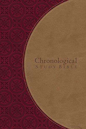 9781401676940: The Chronological Study Bible: New King James Version, Berry/Café au Lait Leathersoft (Signature)