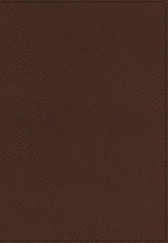 9781401677008: KJV, UltraSlim Reference Bible, Imitation Leather, Brown, Red Letter Edition (Classic)