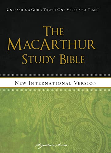 9781401677404: NIV, The MacArthur Study Bible, Hardcover (Signature)