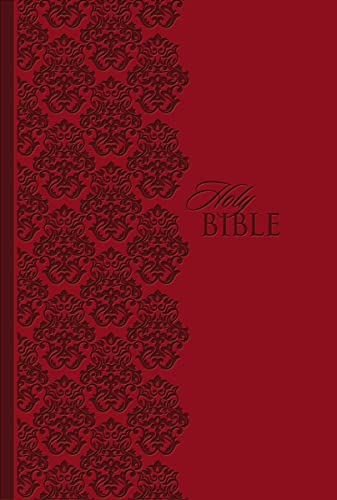KJV Study Bible, Personal Size, Imitation Leather, Red, Red Letter Edition