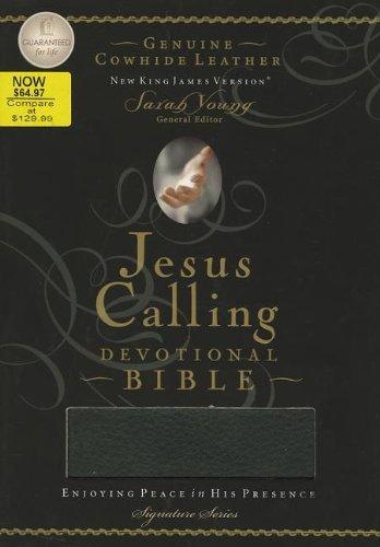 9781401678135: Jesus Calling Devotional Bible: Enjoying Peace in His Presence, New King James Version