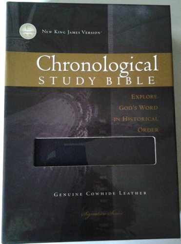 9781401678142: The Chronological Study Bible, NKJV