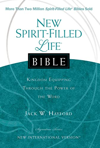 9781401678210: New Spirit Filled Life Bible: Kingdom Equipping Through the Power of the Word