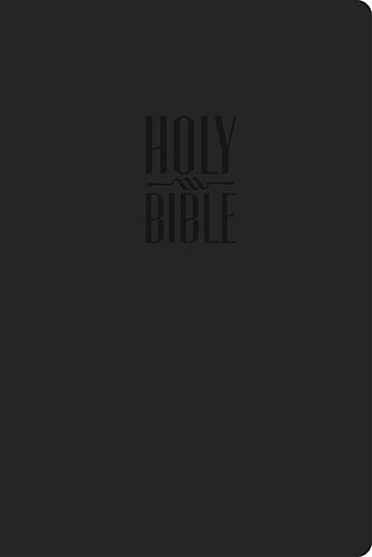 9781401678449: The Holy Bible: King James Version, Black, Leathersoft, Reference Edition (The Essential Series)