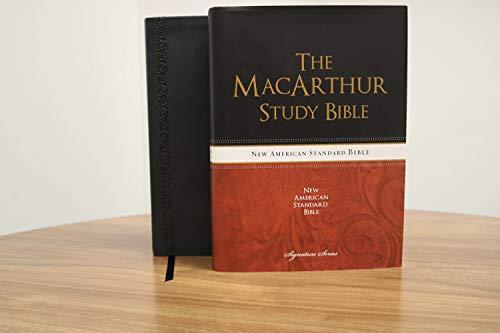 9781401679101: NASB, The MacArthur Study Bible, Imitation Leather, Black, Indexed (Signature)