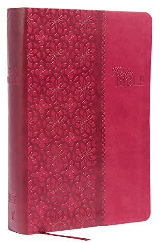 9781401679507: KJV Study Bible, Imitation Leather, Red/Pink, Red Letter Edition: Second Edition (Signature)