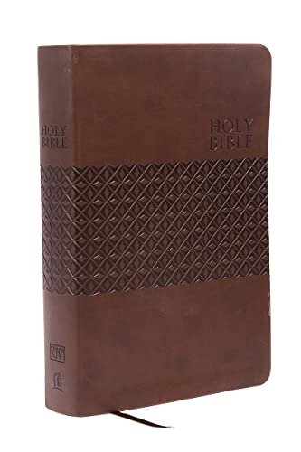 9781401679538: KJV Study Bible, Large Print, Imitation Leather, Brown, Red Letter Edition: Second Edition