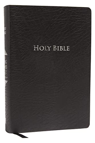 9781401679569: KJV Study Bible, Large Print, Bonded Leather, Black, Red Letter Edition: Second Edition
