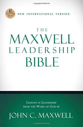9781401679781: Maxwell Leadership Bible-NIV