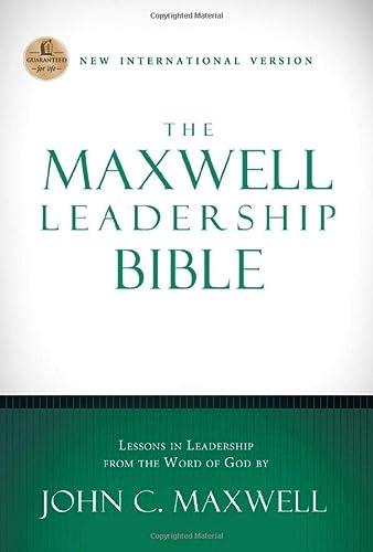 9781401679781: NIV, The Maxwell Leadership Bible, Hardcover
