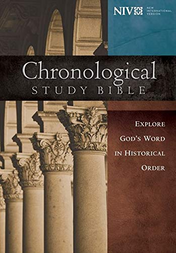 9781401680114: NIV, Chronological Study Bible, Hardcover