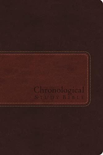 9781401680275: NIV, Chronological Study Bible, Leathersoft, Brown: Holy Bible, New International Version