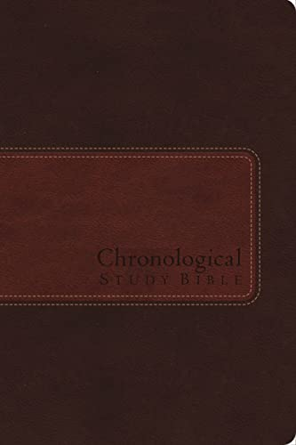 9781401680275: NIV, The Chronological Study Bible, Imitation Leather, Brown