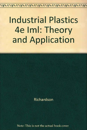 9781401804701: Industrial Plastics 4e Iml: Theory and Application