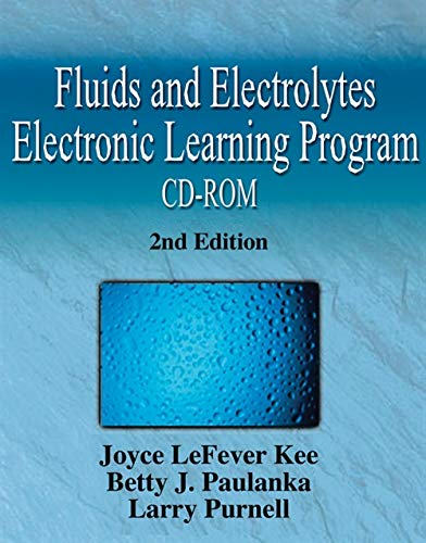 9781401810344: Fluids and Electrolytes Electronic Learning Program, 2e: Individual Version