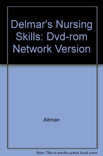 9781401810771: Delmar's Nursing Skills: Dvd-rom Network Version