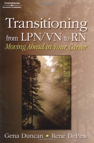 9781401810870: Transitioning from LPN/VN to RN: Moving Ahead in Your Career