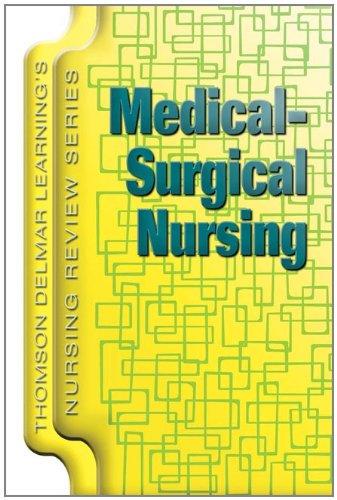 9781401811761: Delmar's Nursing Review Series: Medical-Surgical Nursing (Thomson Delmar Learning's Nursing Review Series)