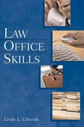 9781401812294: Law Office Skills