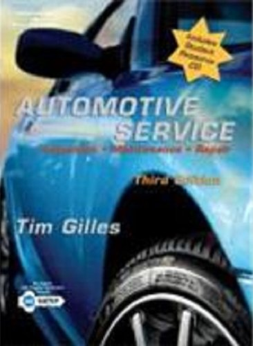 9781401812348: Automotive Service: Inspection, Maintenance and Repair, Second Edition (Automotive Service: Inspection, Maintenance, Repair)