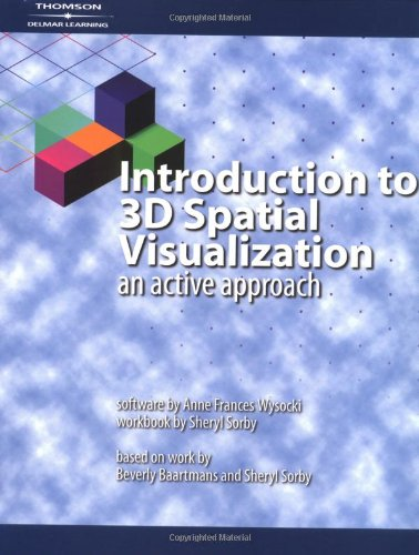 9781401813895: Introduction to 3D Spatial Visualization: An Active Approach (Book & CD)