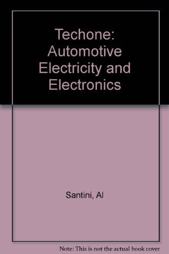 9781401813956: Techone: Automotive Electricity and Electronics
