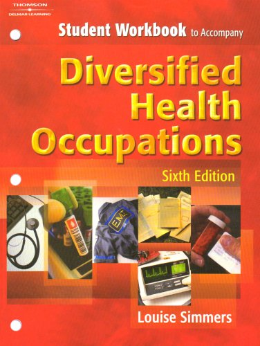 9781401814571: Student Workbook to Accompany Diversified Health Occupations