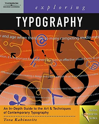 9781401815059: Exploring Typography (Graphic Design/Interactive Media)