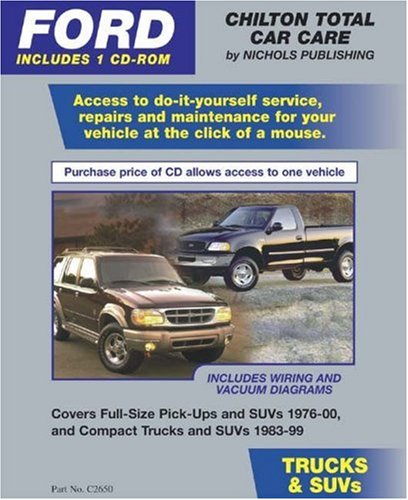 FORD Trucks & SUVs 1976-00 (Retail Box) (Total Car Care) (1401817394) by Chilton