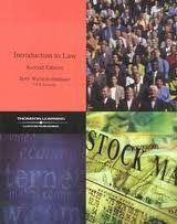 9781401818500: Introduction to Law: Custom Edition