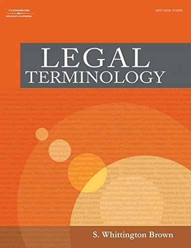 9781401820121: Legal Terminology
