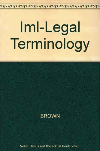 Iml-Legal Terminology