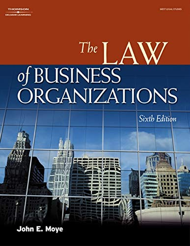 9781401820190: The Law of Business Organizations