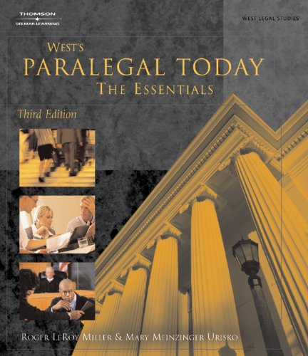 9781401824297: Paralegal Today: The Essentials