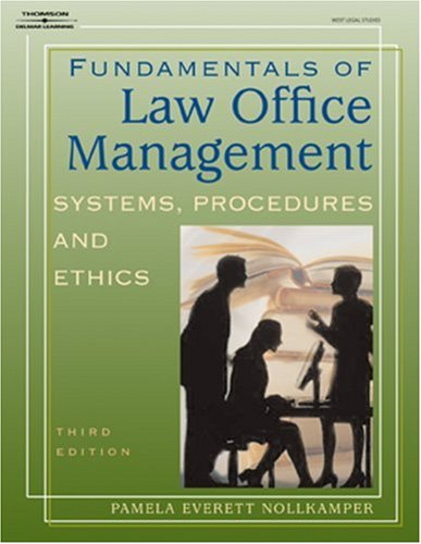 9781401824631: Fundamentals of Law Office Management (West Legal Studies Series)