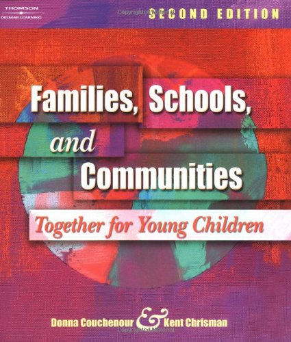 9781401827663: Families, Schools, and Communities: Together for Young Children