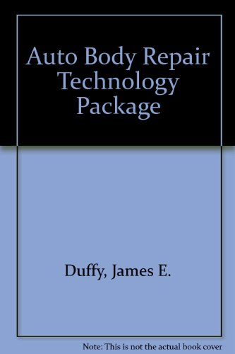 9781401830854: Auto Body Repair Technology Package
