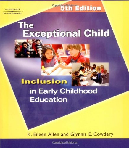 9781401835965: The Exceptional Child: Inclusion in Early Childhood Education