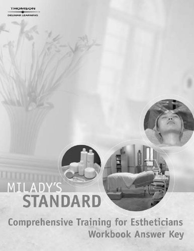 9781401836597: Milady's Standard Comprehensive Training for Estheticians Study Guide Answer Key