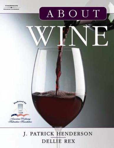 About Wine 9781401837112 About Wine is a unique text that presents students of the culinary arts with the practical and detailed knowledge necessary to managing wine and wine sales for restaurants and the hospitality business. Intended for students enrolled in restaurant and/or hospitality management courses, the five distinct sections of the text cover the basics of wine, the wine regions of the world, types of wine, and the business of wine. This text seeks first to give the reader a background in the origins of wine and how it is produced. The text introduces such topics as the vineyard, the winery, and tasting wines. It then builds upon this knowledge with information on the different wine producing regions of the world and the numerous variations of wine they produce. The text concludes with a section on the business of wine, which includes selling and serving wines, developing and managing a wine list, and buying and cellaring wines. Special features of the text include detailed color diagrams and photographs throughout to keep the text interesting and engaging. Useful appendices designed for use as a quick reference or as a starting place for more research are also included, making this text a valuable resource even after formal training has ended.