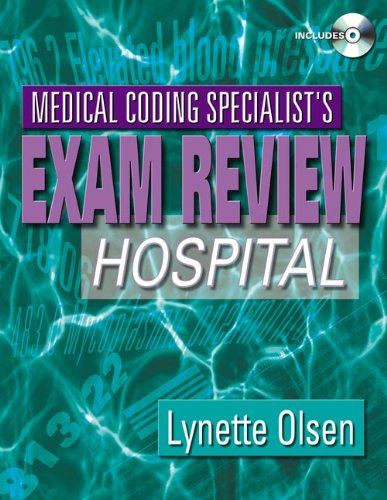 9781401837501: Medical Coding Specialist's Exam Review: Hospital