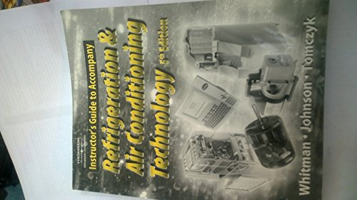 Refridgeration and Air Conditioning Technology (9781401837679) by Whitman
