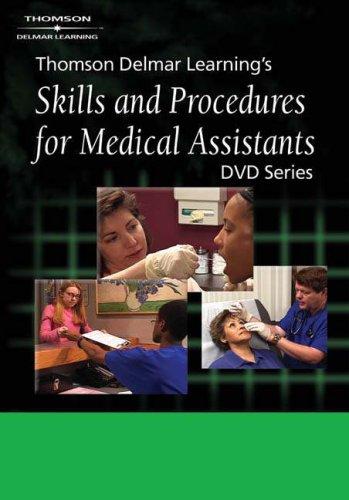 9781401838744: Delmar's Skills and Procedures for Medical Assistants DVD #4: Infection Control Procedures (No. 6)