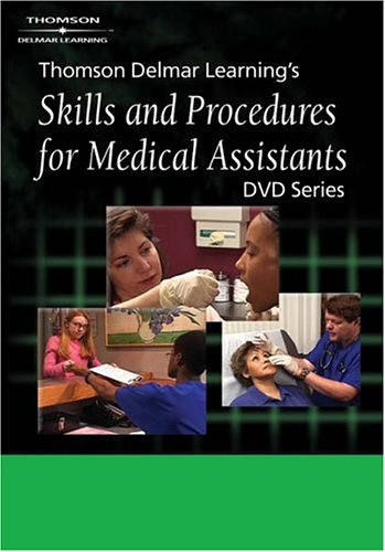 9781401838768: Delmar's Skills and Procedures for Medical Assistants DVD #5: Taking Measurements and Vital Signs