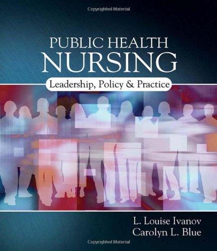 9781401839659: Public Health Nursing: Policy, Politics and Practice