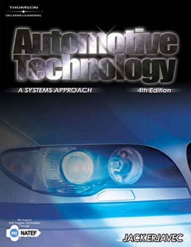 Automotive Technology: A Systems Approach: Erjavec, Jack