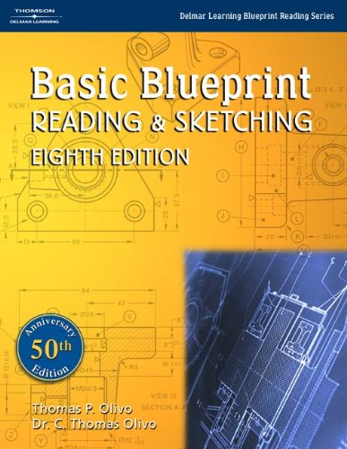 9781401848781: Basic Blueprint Reading and Sketching (Delmar Learning Blueprint Reading)