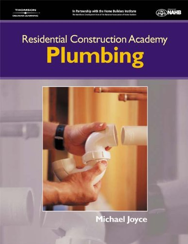 9781401848910: Residential Construction Academy: Plumbing