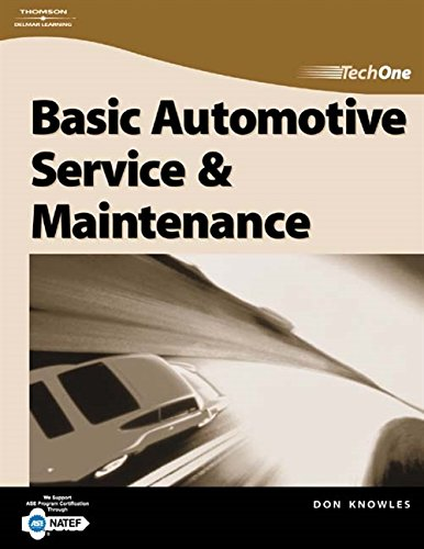 TechOne: Basic Automotive Service & Maintenance: Don Knowles