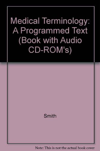 9781401854713: Medical Terminology: A Programmed Text (Book with Audio CD-ROM's)